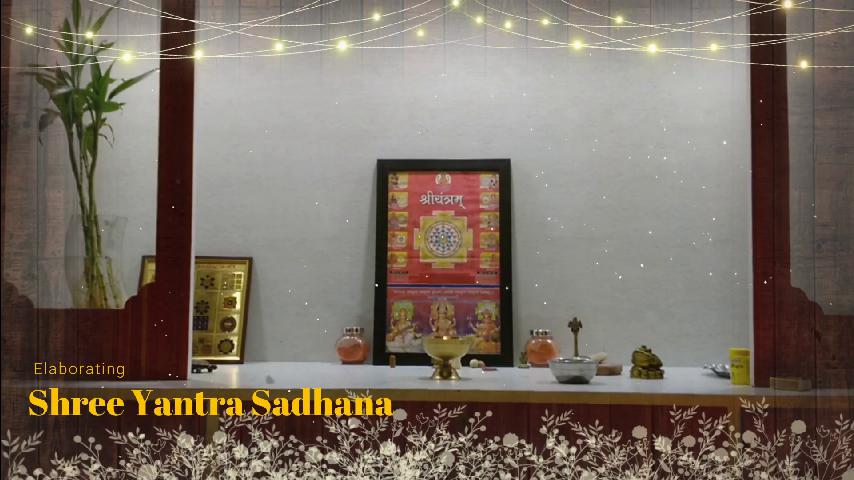Shree Yantra Sadhana Process
